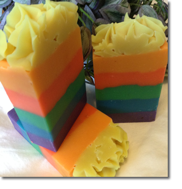 Rainbow Dreams Goat Milk Soap